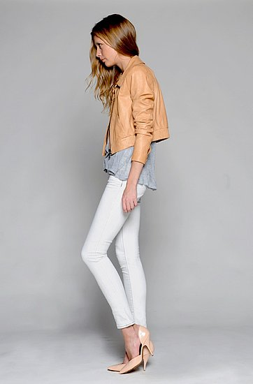 J Brand, spring 2012, sportswear, collection, leather, jeans